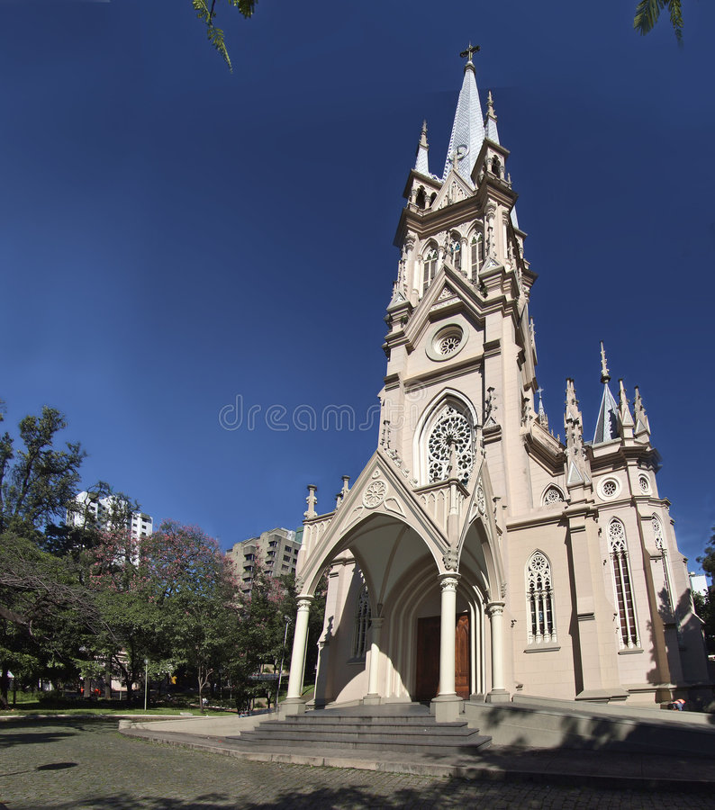 Kerk - Brazilië royalty-vrije stock foto's