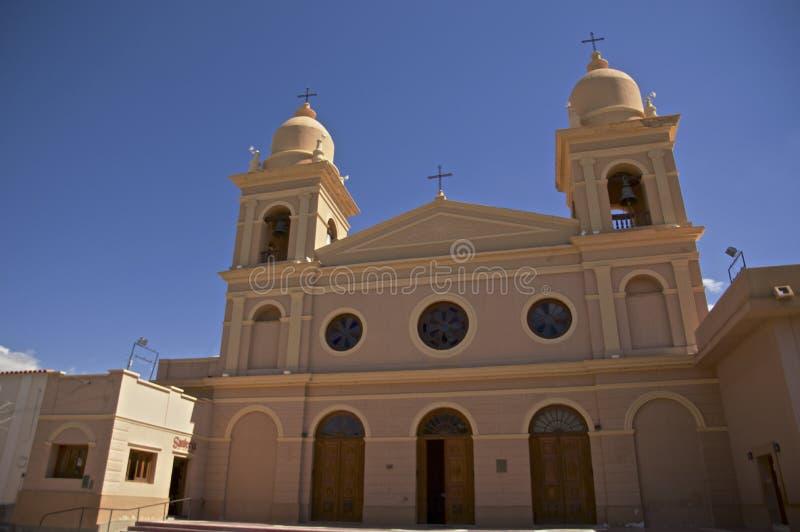 Download Kerk in Cafayate stock foto. Afbeelding bestaande uit noodzaak - 54084444