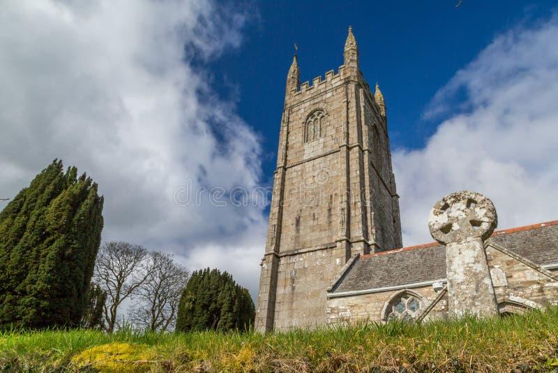 Kerk in Cornwall royalty-vrije stock fotografie