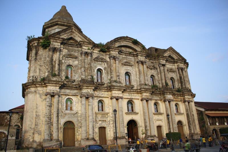 Kerk in de Filippijnen royalty-vrije stock foto's