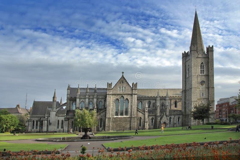 Kerk in Dublin royalty-vrije stock afbeeldingen