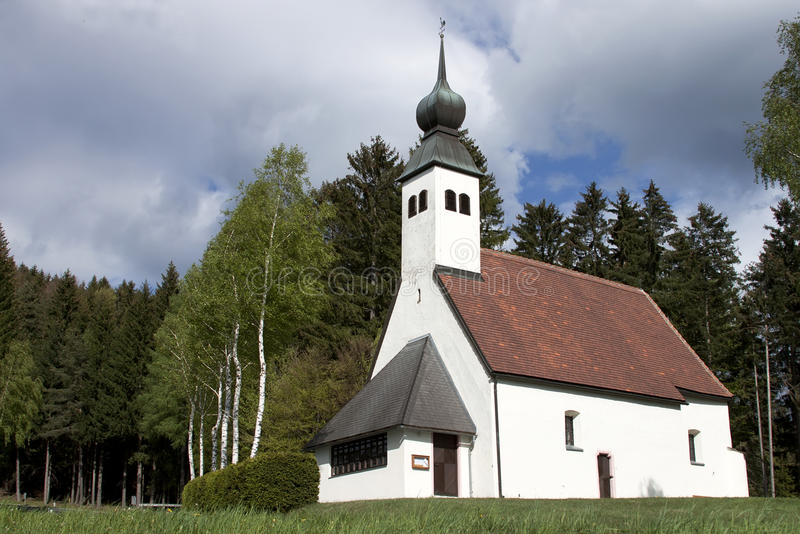Kerk en aard stock afbeeldingen