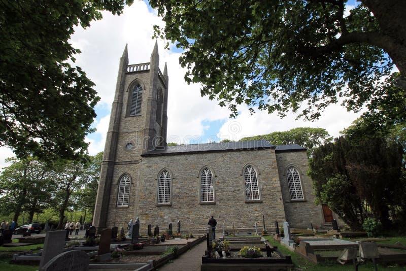 Kerk en kerkhof van St Columba van Drumcliffe royalty-vrije stock afbeeldingen