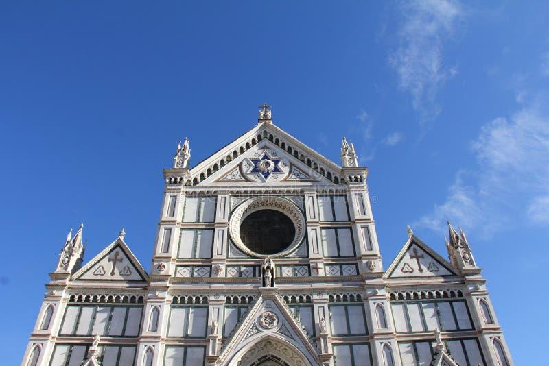Kerk in Florence royalty-vrije stock afbeeldingen