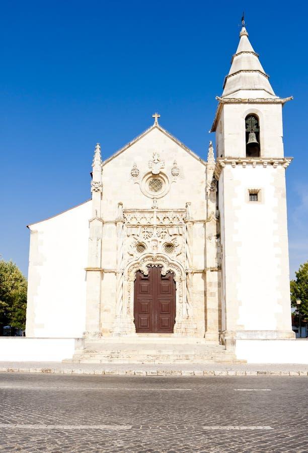 Kerk in Golega royalty-vrije stock foto's