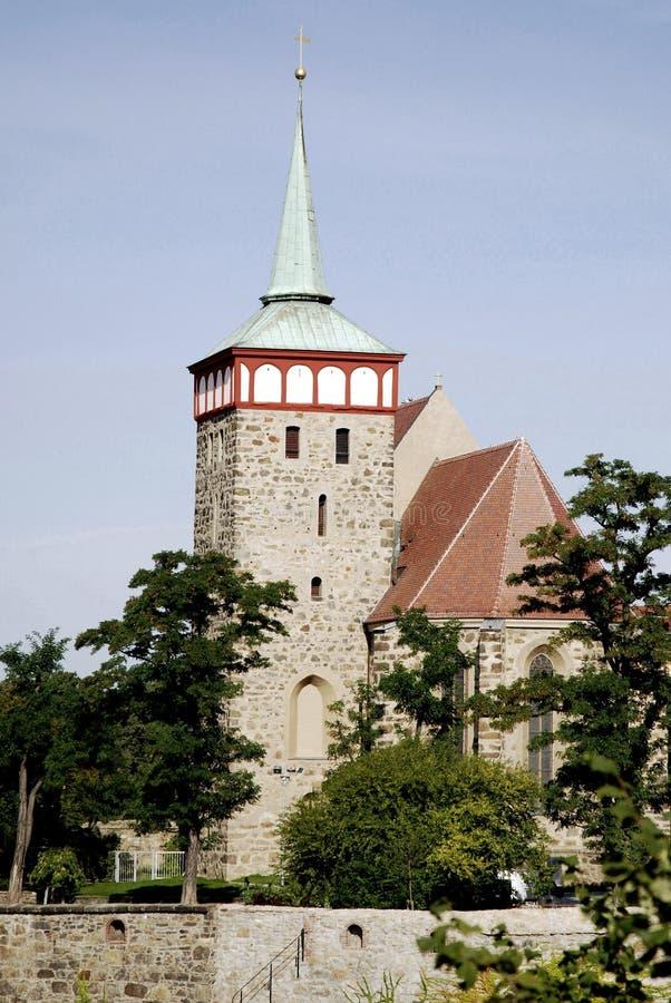 Kerk Heilige Michael van Bautzen in Duitsland royalty-vrije stock fotografie