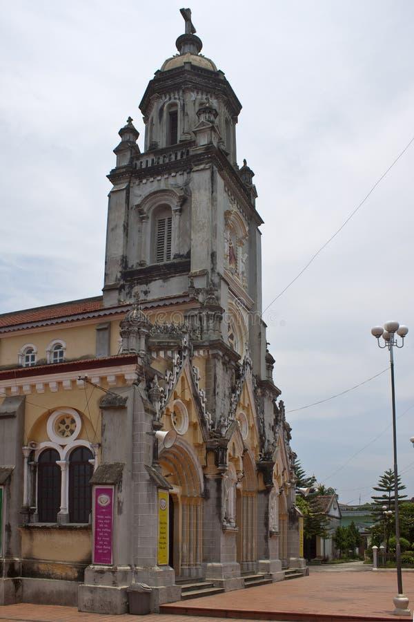 Kerk in het dorp van Kenh GA royalty-vrije stock fotografie