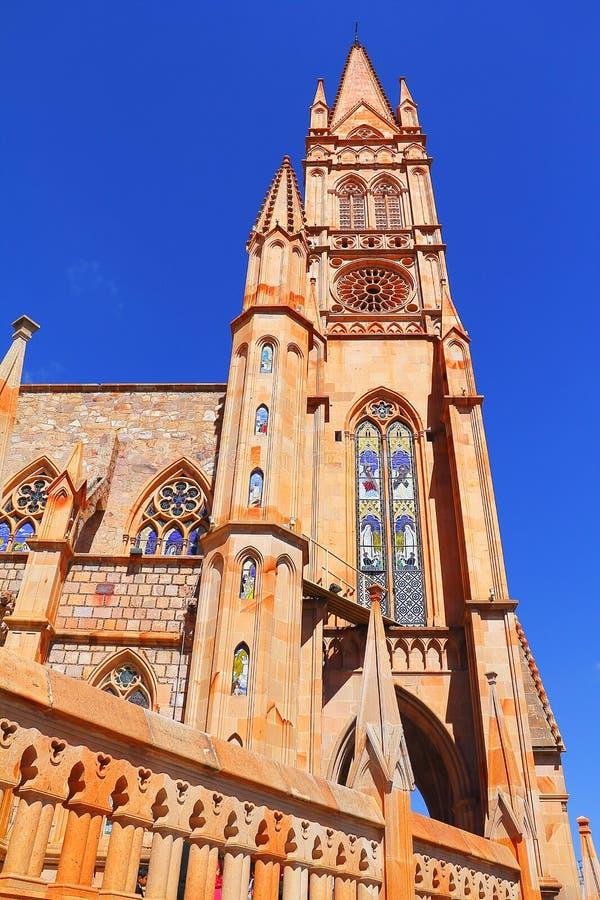 Kerk I van Fatima stock foto