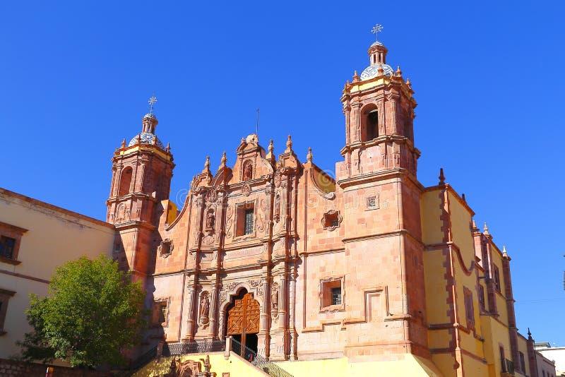 Kerk I van Santo Domingo royalty-vrije stock fotografie