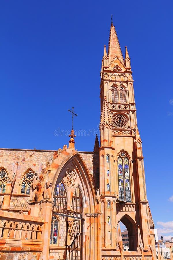 Kerk II van Fatima stock foto's