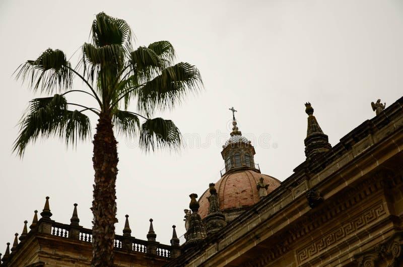 Kerk Jerez de la Frontera royalty-vrije stock foto