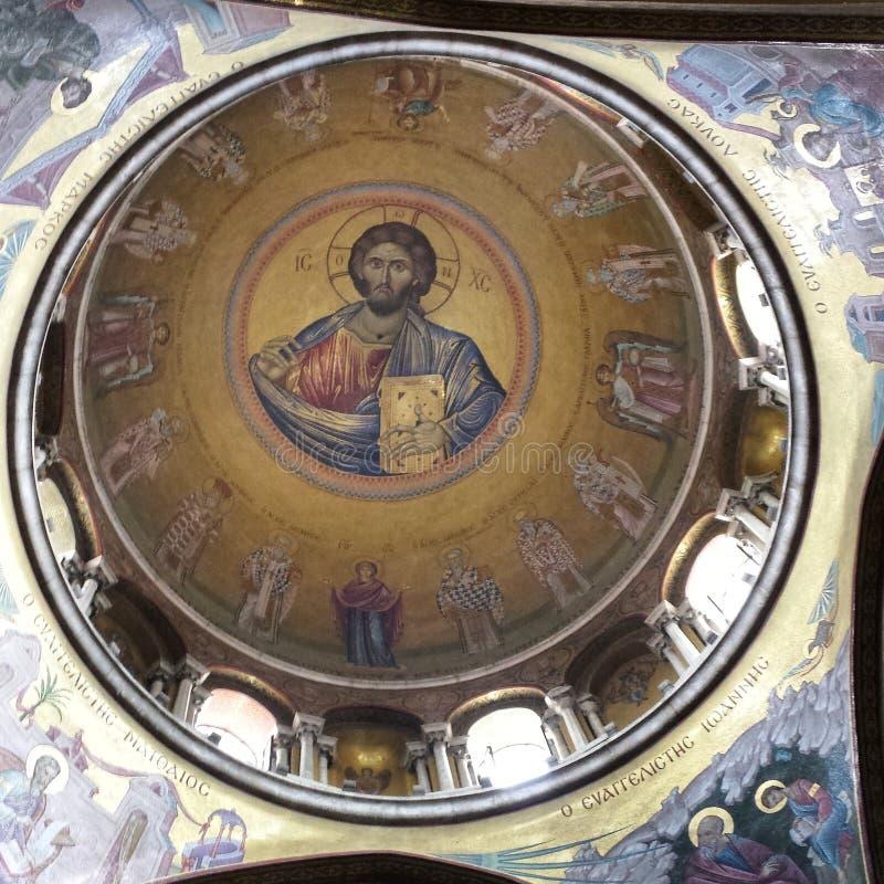 Kerk in Jeruzalem royalty-vrije stock fotografie