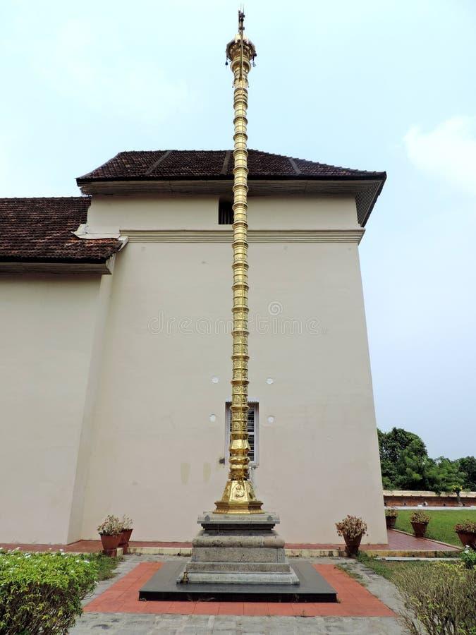 Kerk in Kerala, India stock fotografie