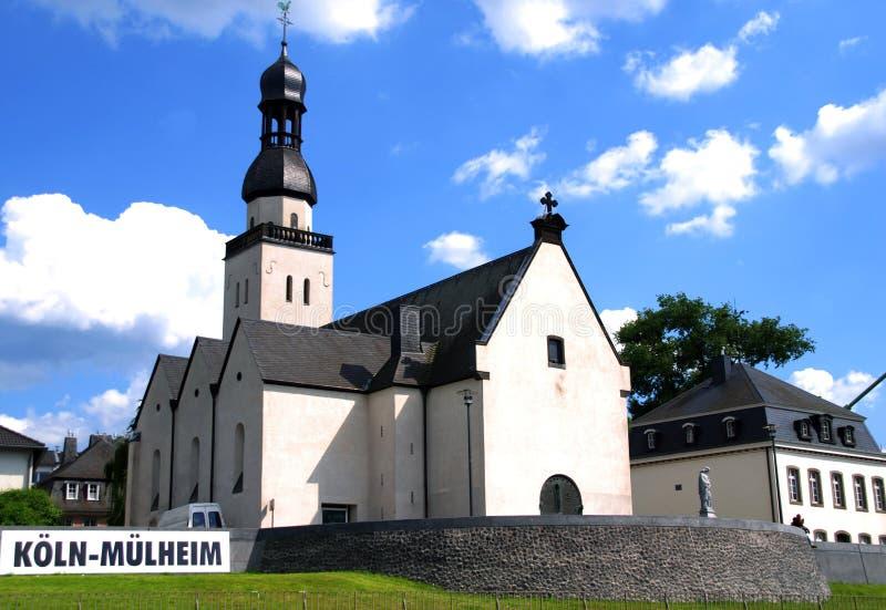 Kerk in Keulen (Köln), Duitsland stock foto