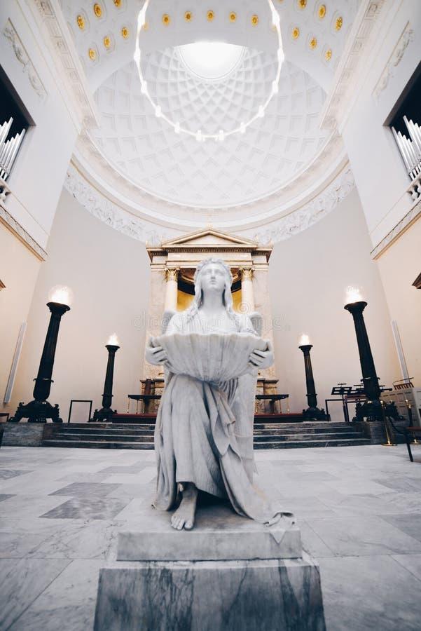Kerk in Kopenhagen, Denemarken stock fotografie