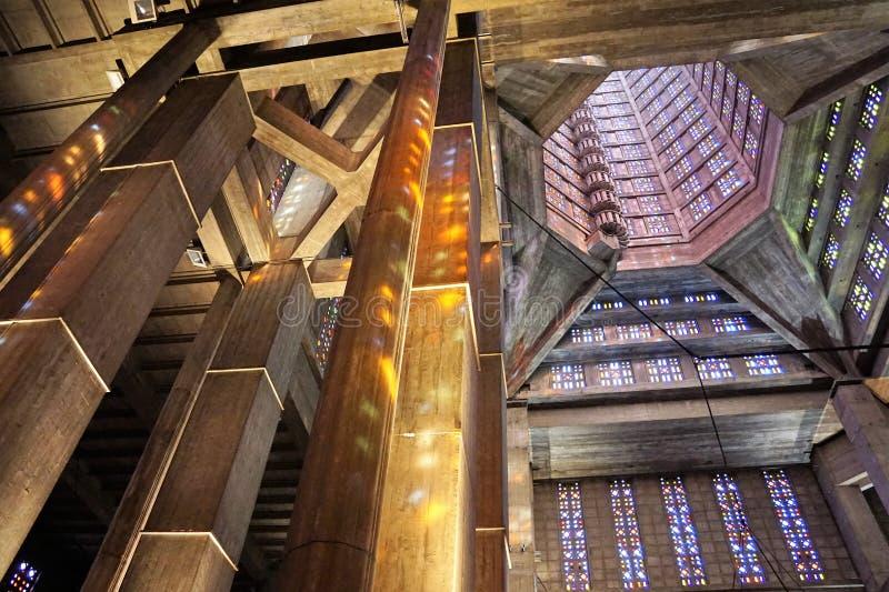 Kerk in Le Havre Frankrijk royalty-vrije stock afbeeldingen