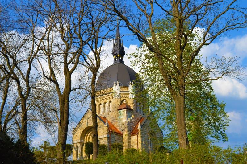 Kerk in Lviv royalty-vrije stock afbeeldingen