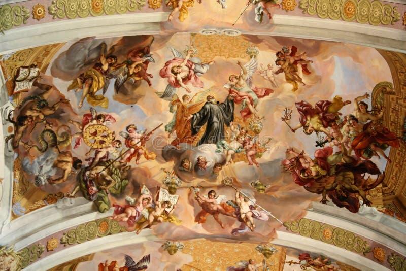 Kerk in Melk royalty-vrije stock foto's