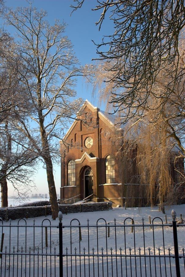 Kerk middelie royalty-vrije stock foto