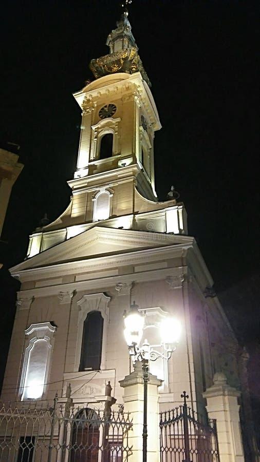 Kerk, Novi Sad royalty-vrije stock foto's