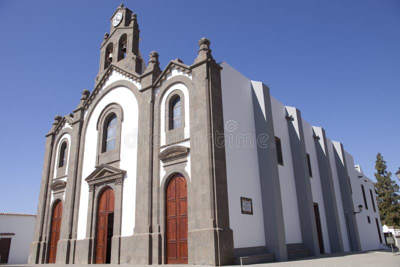 Kerk op Gran Canaria royalty-vrije stock afbeelding