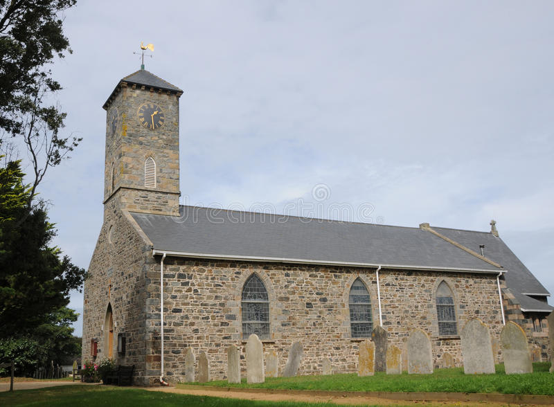 Kerk op Sark royalty-vrije stock foto