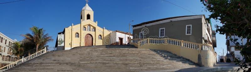 Kerk in Pacasmayo stock afbeeldingen