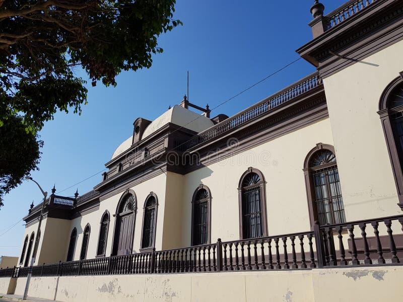 Kerk in Pacasmayo royalty-vrije stock afbeeldingen