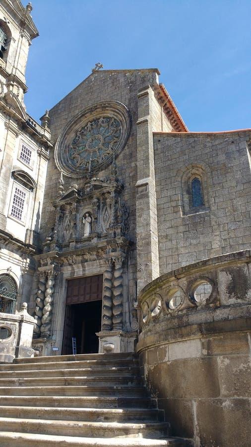 Kerk in Porto stock foto