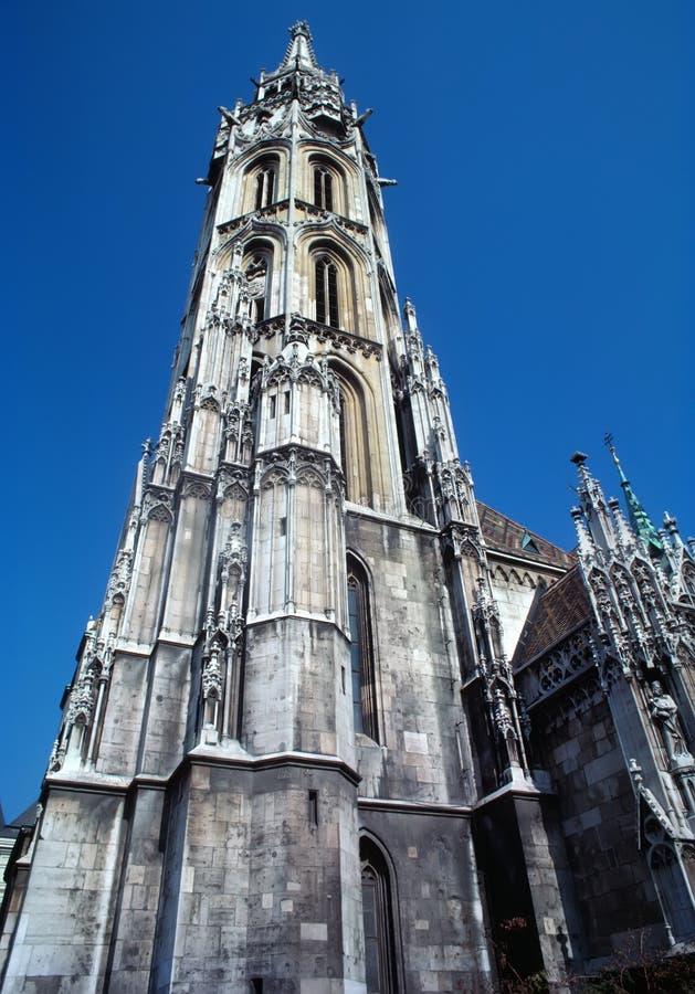 Kerk in Praag stock foto