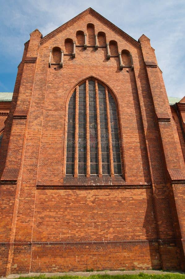 Kerk in Pruszkow - Polen stock foto's