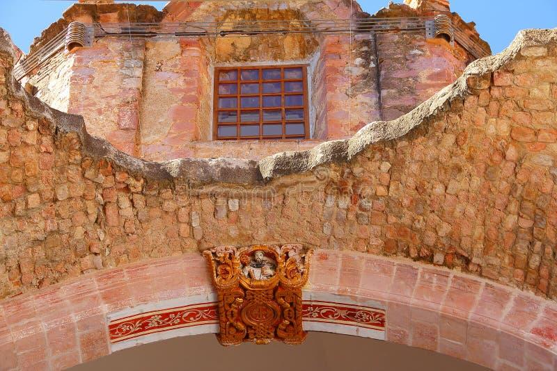 Kerk in ruïnes IV stock afbeelding