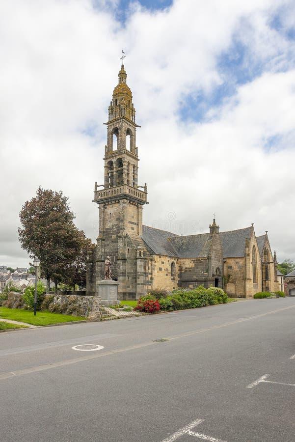 Kerk in Rumengol stock fotografie