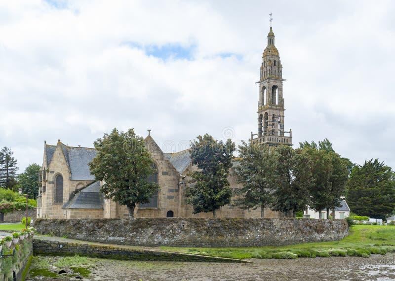 Kerk in Rumengol royalty-vrije stock afbeelding