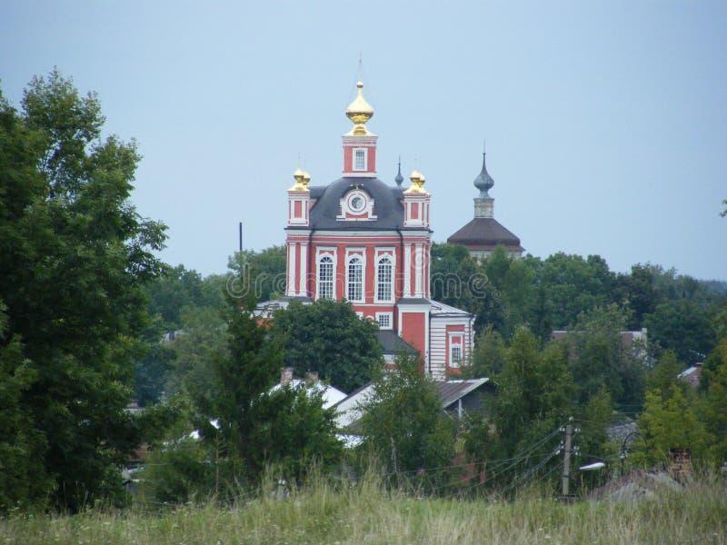 Kerk in Rusland stock foto