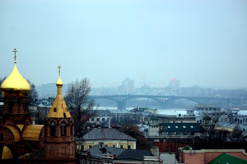 Kerk in Rusland stock afbeelding