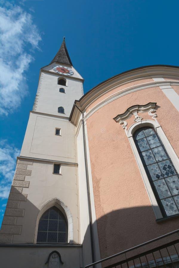 Download Kerk In Slechte Ischl, Oostenrijk Stock Afbeelding - Afbeelding bestaande uit stad, kerk: 54085467