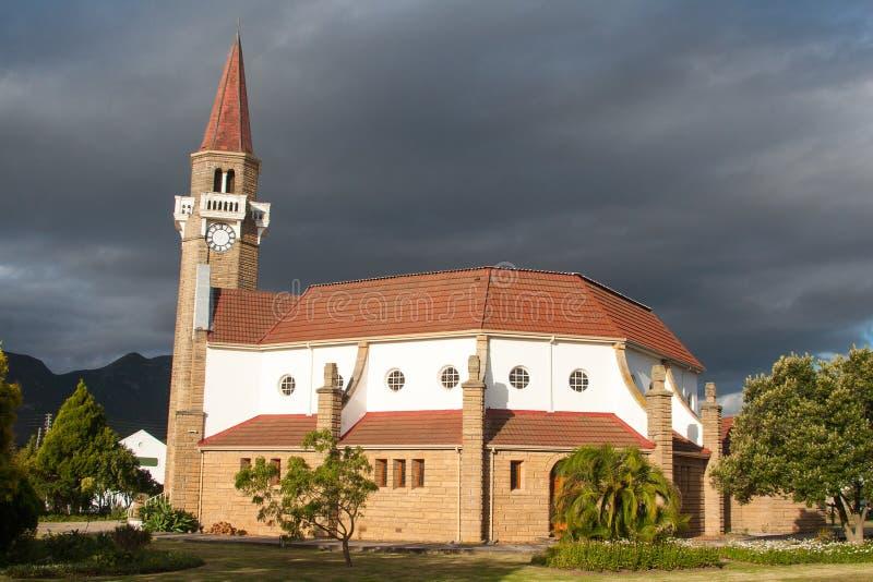Kerk in Stanford royalty-vrije stock afbeeldingen