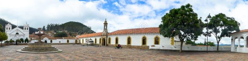 Kerk in Sucre, Bolivië stock fotografie