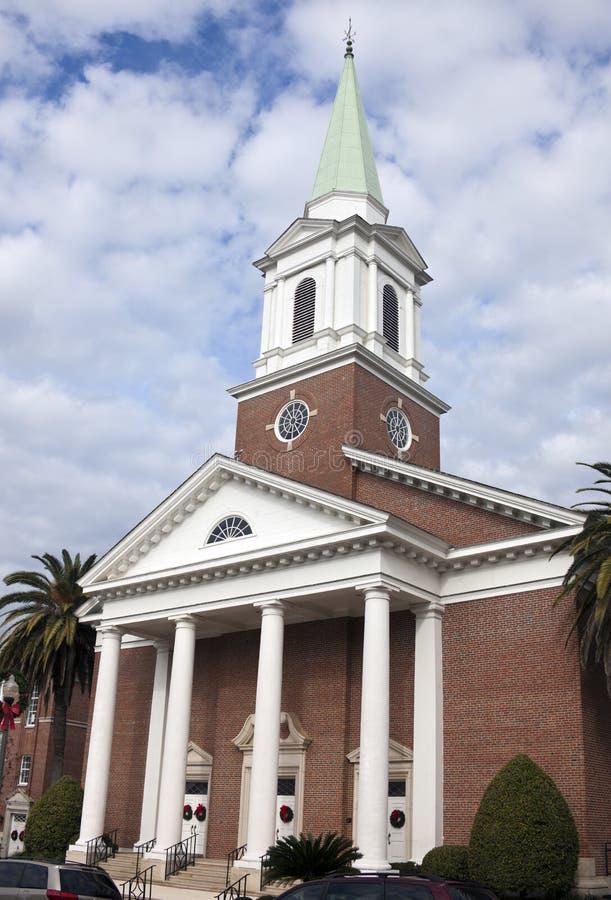 Kerk in Tallahassee royalty-vrije stock foto