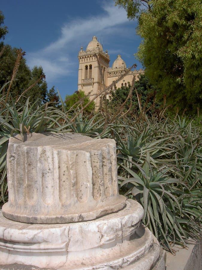 Kerk van chartago stock foto's