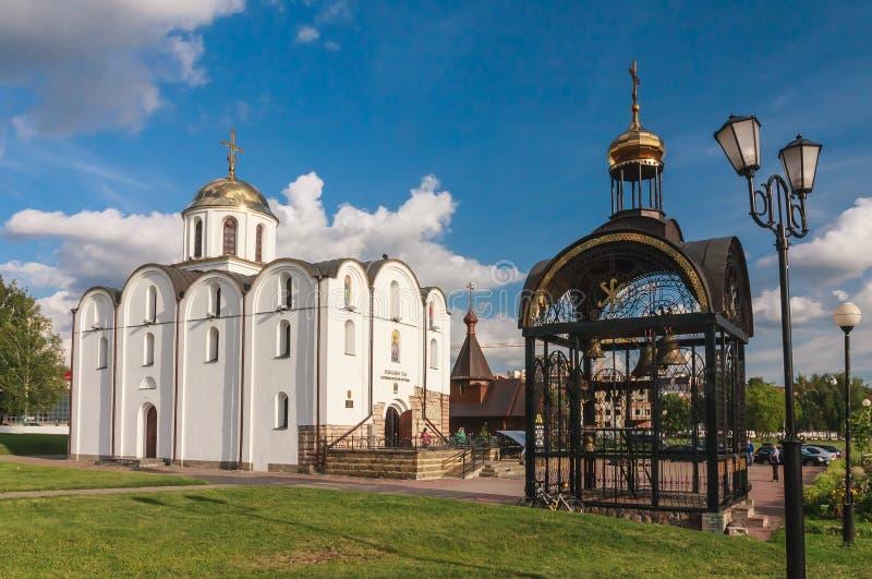 Kerk van de Aankondiging Vitebsk Belrus stock foto's