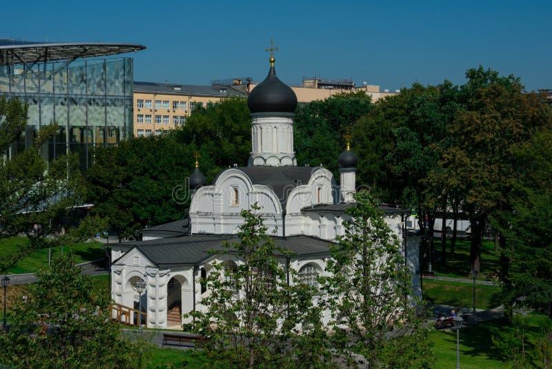 Kerk van de Conceptie van St Anna in de hoek op de Gracht stock fotografie