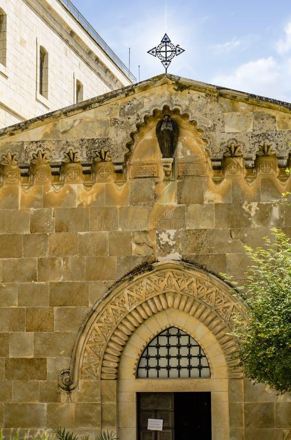 Kerk van de Flagellatie stock foto's
