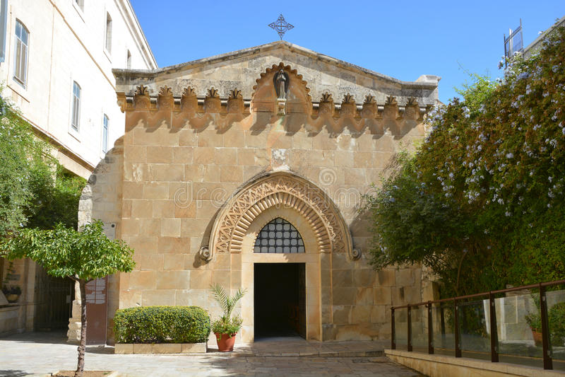 Kerk van de Flagellatie royalty-vrije stock foto's