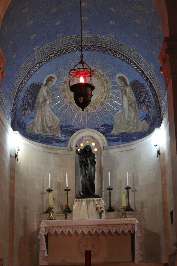Kerk van de Fresko van de Transfiguratie stock afbeelding