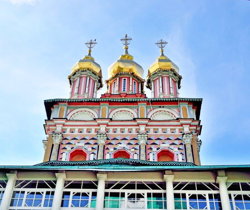 Kerk van de Geboorte van Christus van John Doopsgezind in de Heilige Drievuldigheid S stock foto