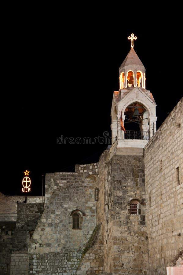 Kerk van de Geboorte van Christus stock fotografie