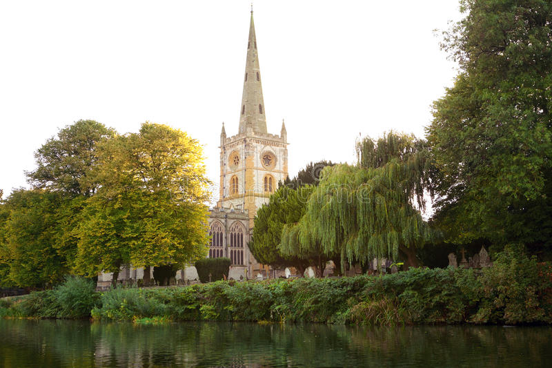 Kerk van de Heilige Drievuldigheid royalty-vrije stock afbeelding