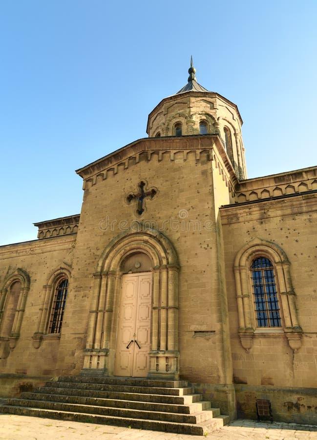 Kerk van de Heilige Verlosser Derbent stock fotografie